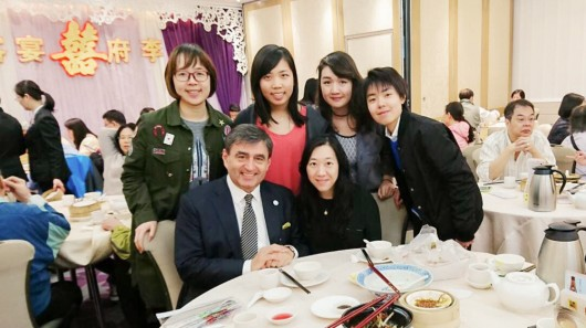 28th March 2017 – Yum cha with Prof. Eric Mazur from Harvard University