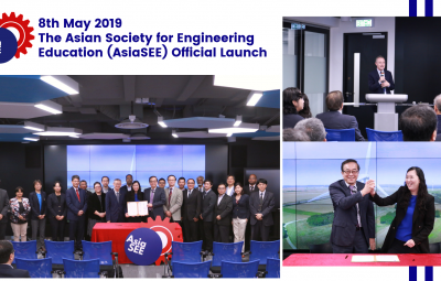 8th May 2019 – Official launching of The Asian Society for Engineering Education (AsiaSEE)
