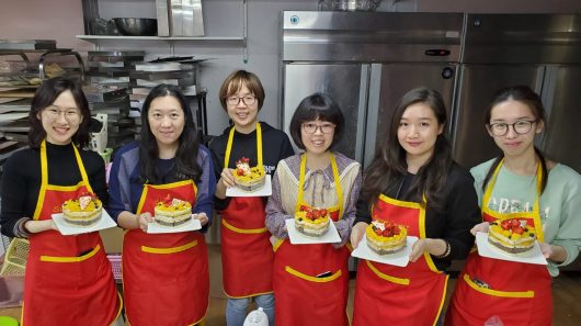 18th December 2019 – Our first ever cake baking class to celebrate Christmas