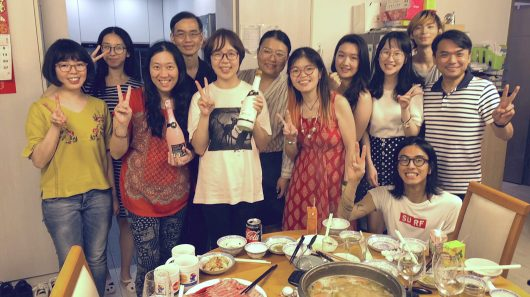 17th July 2019 – Hotpot party to celebrate Dr. Lillian Luk's successful PhD defense