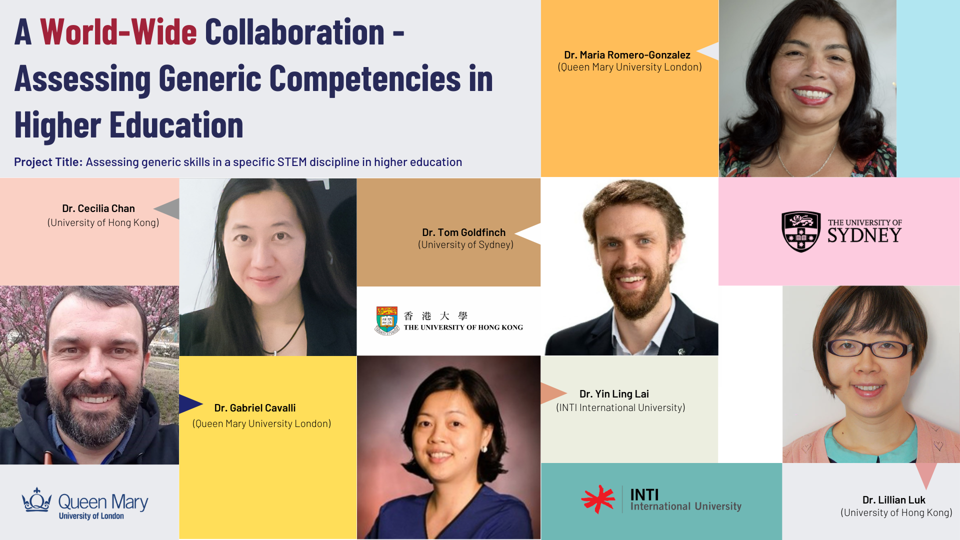 A World-Wide Collaboration - Assessing Generic Competencies in Higher Education