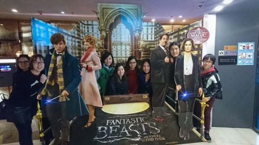 24th November 2016 – Movie Outing at Cyberport
