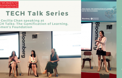 23rd May 2019 – Dr. Cecilia Chan at TECH Talks: Gamification of Learning, Women's Foundation